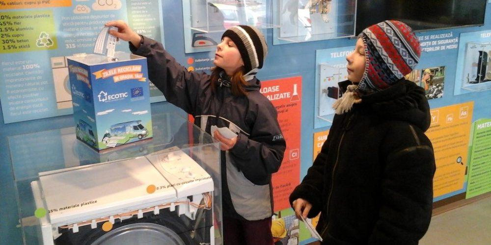 Campanie de colectare a deşeurilor electrice în școli