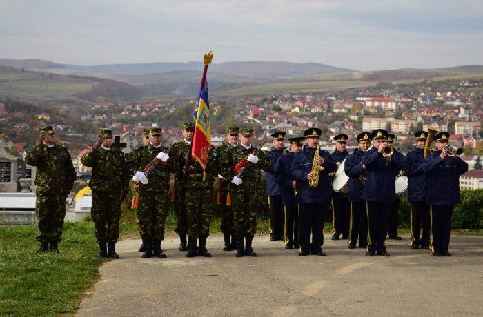 Ziua Armatei României, sărbătorită la Dej