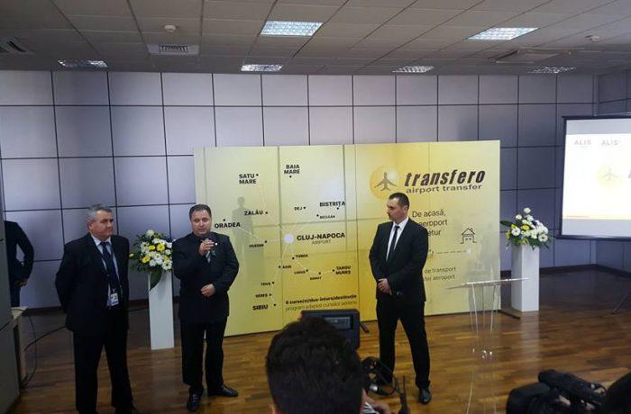 """Servicii de transfer pentru pasagerii  Aeroportului  """"Avram Iancu"""" Cluj"""