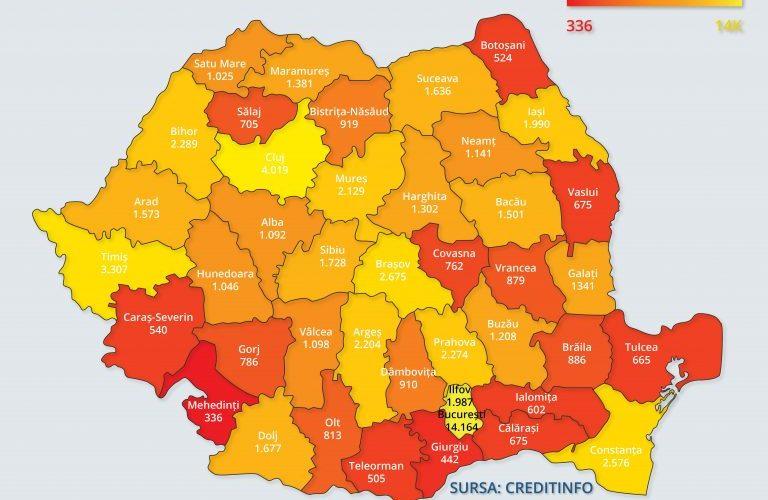 Clujul, cel mai profitabil județ din România !