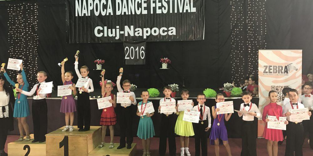 Noi medalii şi premii pentru dansatorii dejeni