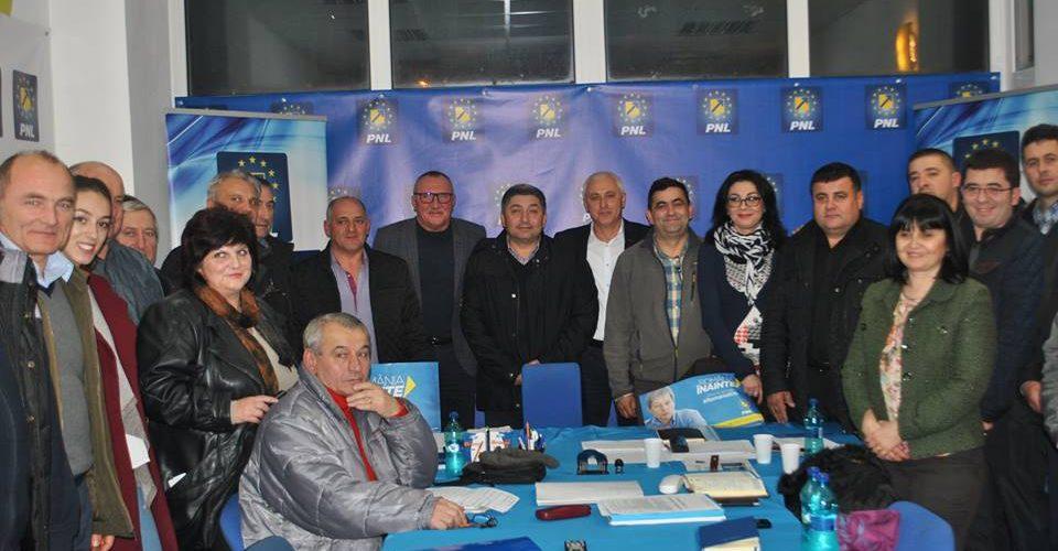Candidatul PNL  pentru alegerile parlamentare din decembrie, prezent la Dej