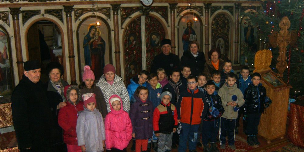 Bucuria de a dărui,  în Parohia Ortodoxă Dej II