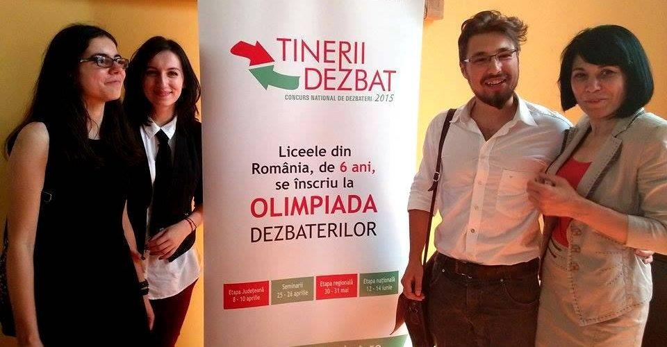 """Concursul """"Tinerii dezbat"""" devine olimpiadă naţională"""