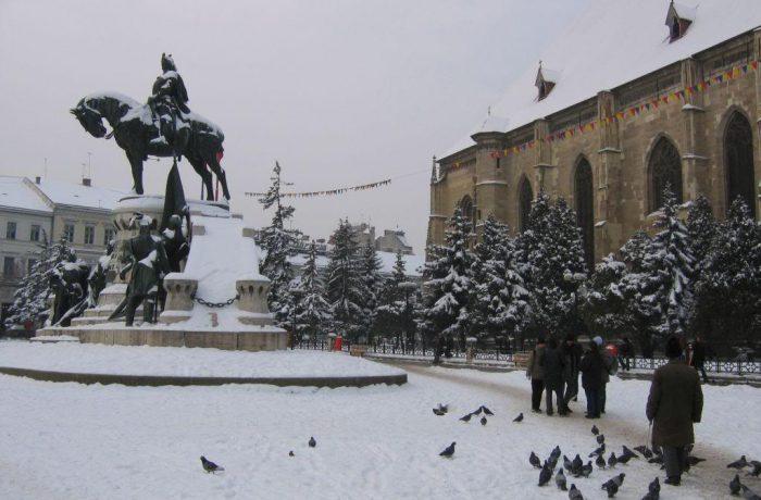 Deocamdată, gerul nu a creat  probleme în judeţul Cluj