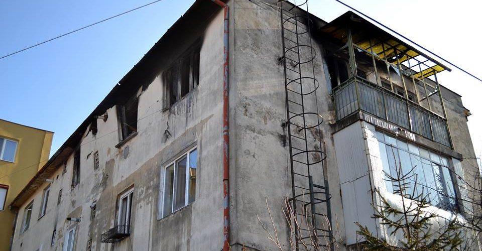 Prefectul județului Cluj, s-a deplasat la locul exploziei din blocul  de pe str. Migdalului