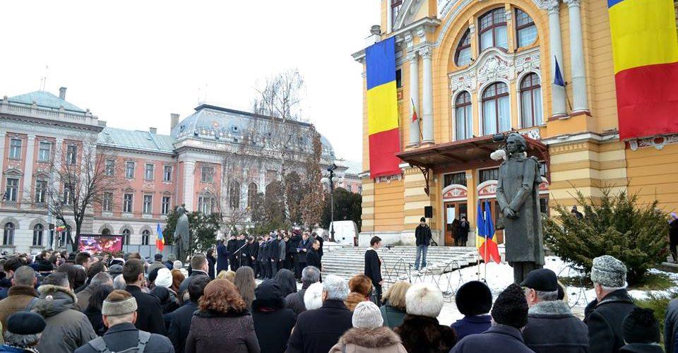 """""""Lecţii de istorie"""" pentru elevii din județul Cluj"""