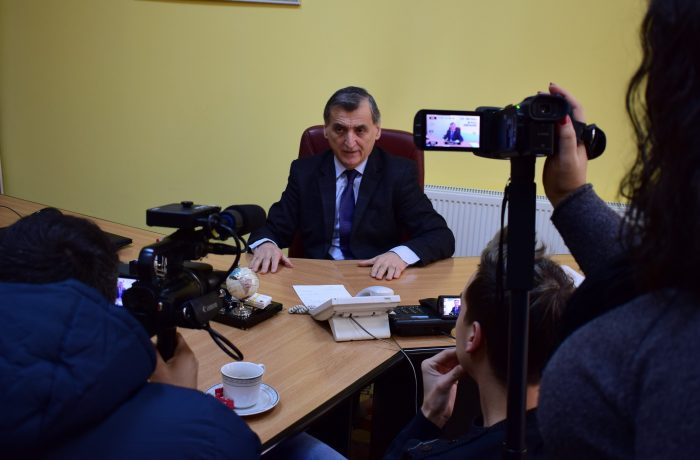 Primarul Dejului, în dialog cu presa locală