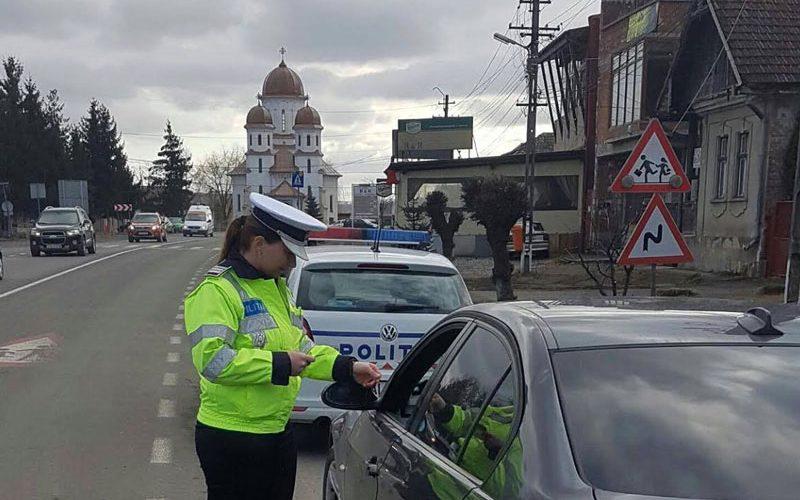 IPJ Cluj: 51 de conducători auto au rămas fără permis, în weekend
