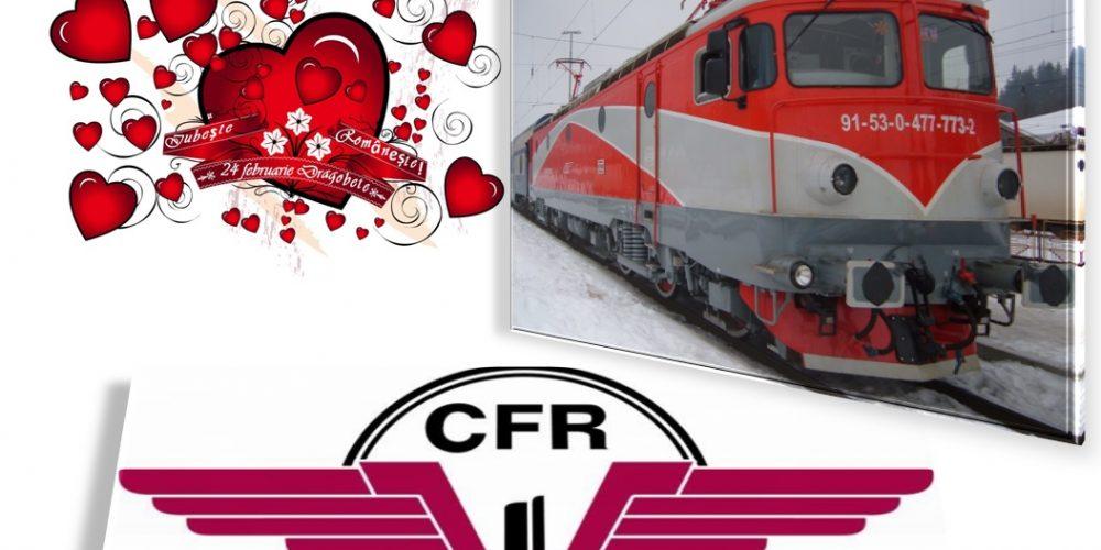 Iubește și călătorește, cu CFR Călători !