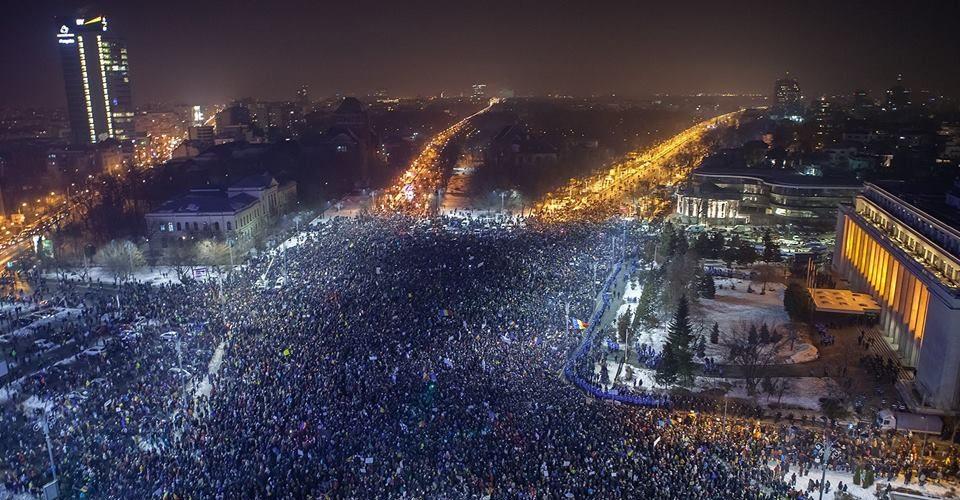 Românii vor o democrație curată!