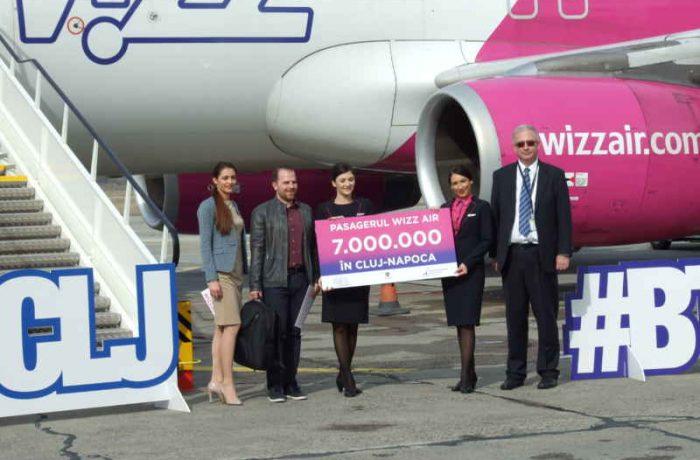 Wizz Air a aniversat pasagerul cu numărul 7.000.000