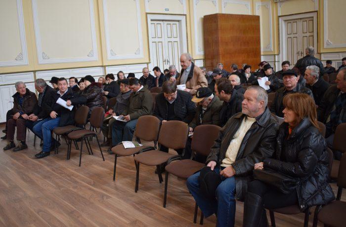 Fermierii din Dej şi zona Dej au fost informaţi despre cererile unice de plată A.P.I.A.