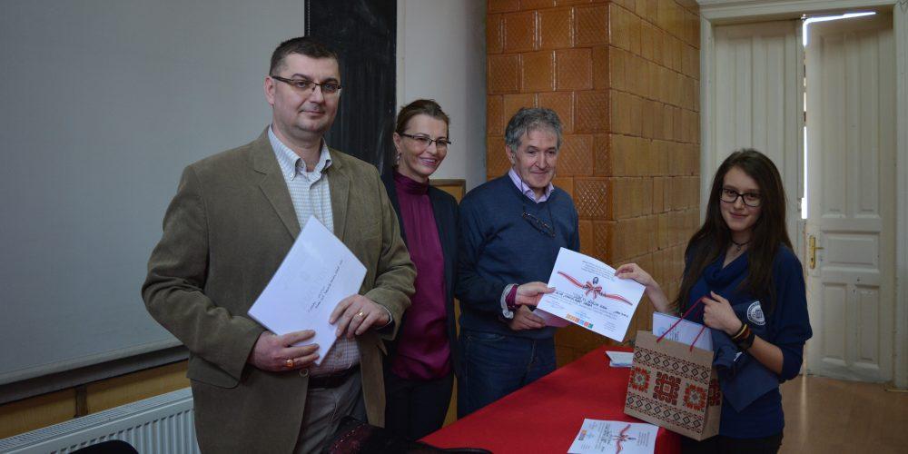 """Concursul Interjudeţean de Chimie """"Gheorghe Spacu"""" – ediția a XIII – a"""