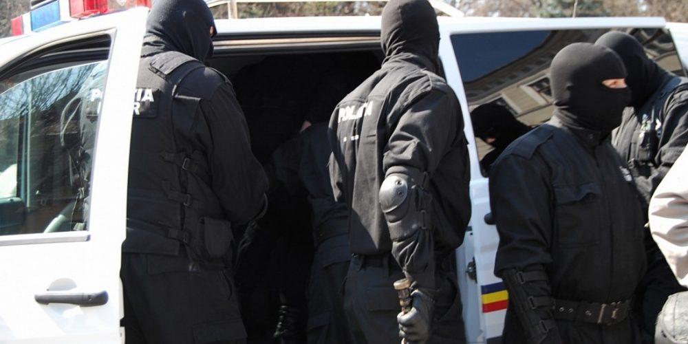 Acțiune de amploare a poliției,  la Dej