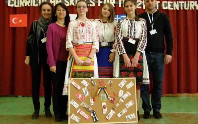 """Reprezentanții Școlii """"Avram Iancu"""", prezenți la reuniunea Erasmus+ din Polonia"""