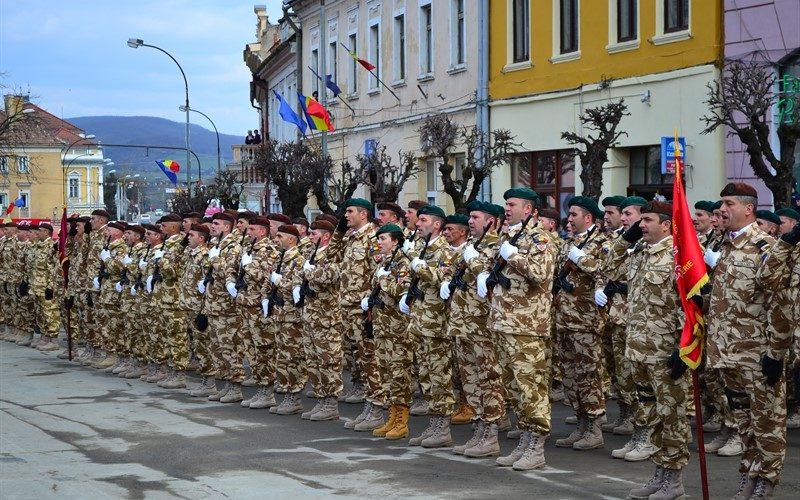 Ziua Forțelor Terestre, la Dej