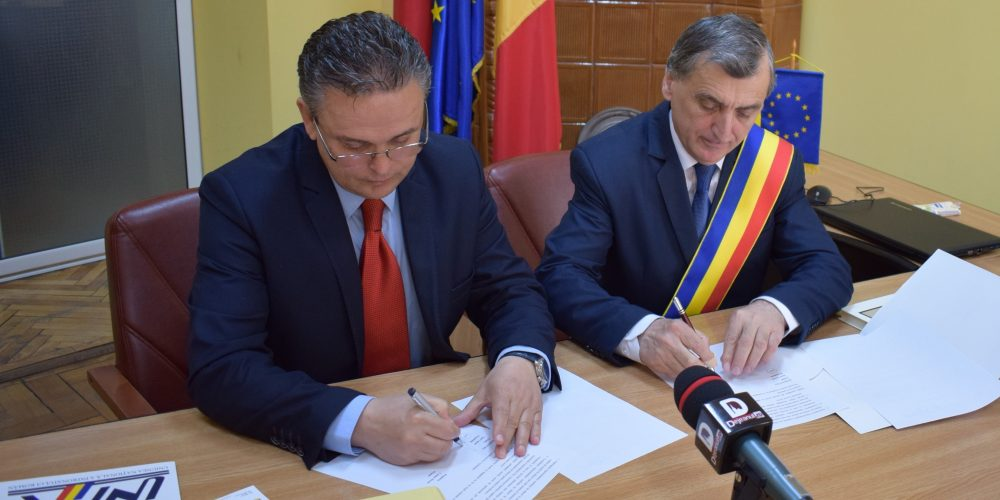 Acord de parteneriat între Primăria Dej şi Uniunea Naţională a Patronatului Român