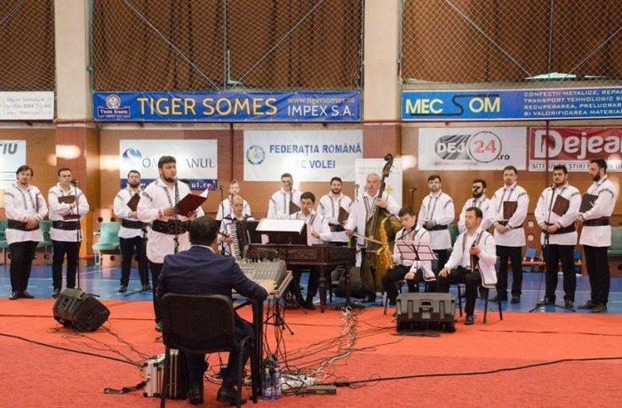 """Corul """"Armonia"""" din Constanța, din nou la Dej (video)"""