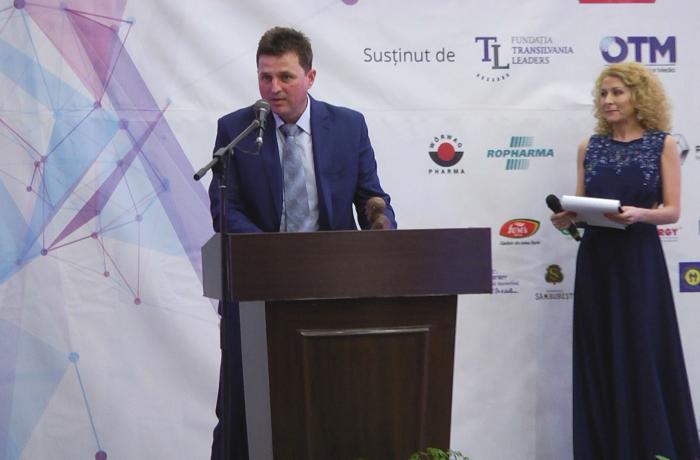 Directorul Spitalului Municipal Dej, premiat la Gala Elitelor Medicale Transilvane