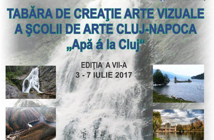 """""""Apă á la Cluj""""– tema Taberei de pictură şi grafică a Şcolii de Arte Cluj"""