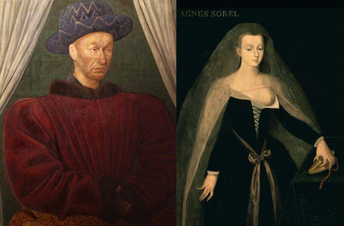 Carol al VII – lea și Agnès Sorel. O iubire cu final tragic.
