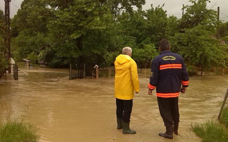 Exerciţiu de simulare a inundaţiilor