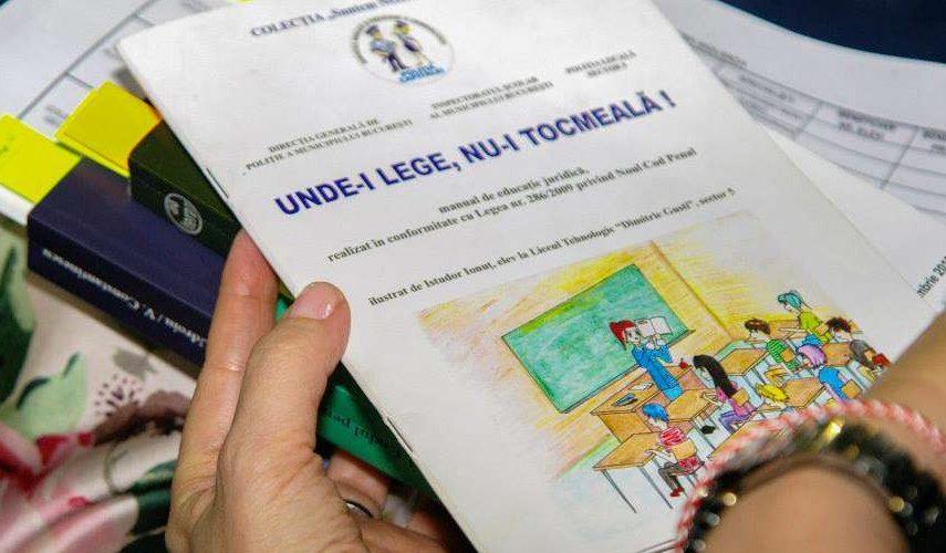 MEN: protocol de colaborare privind promovarea educaţiei juridice în şcoli