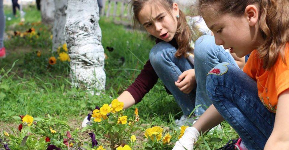 """Final de proiect """"Green Corner"""",  la Școala Gimnazială Chiuiești"""