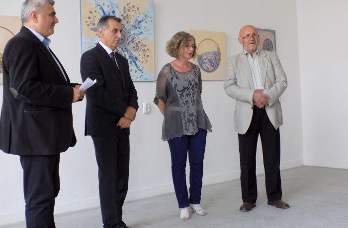 """""""Spațiu și timp"""", la Galeria de Artă din Dej"""