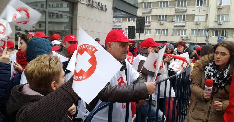 SANITAS se pregătește de proteste