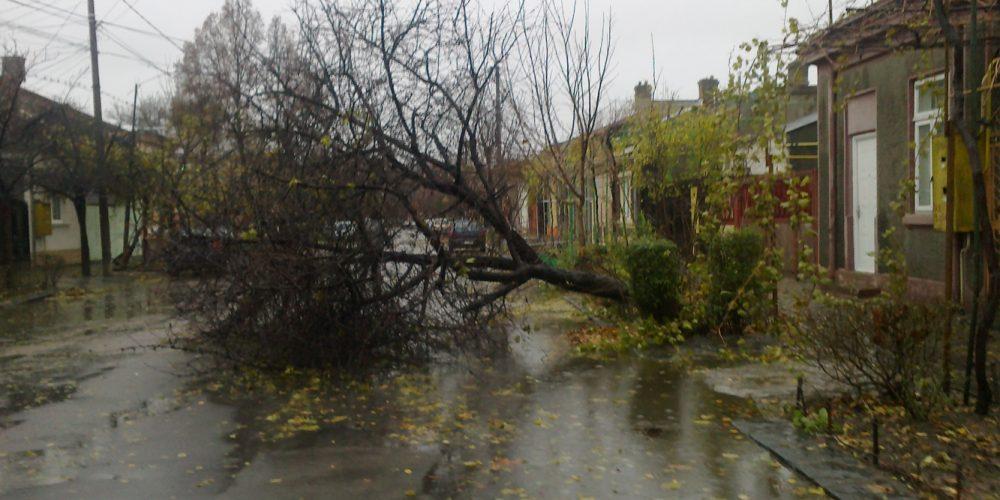Măsuri de intervenție în urma furtunii din 17 septembrie 2017