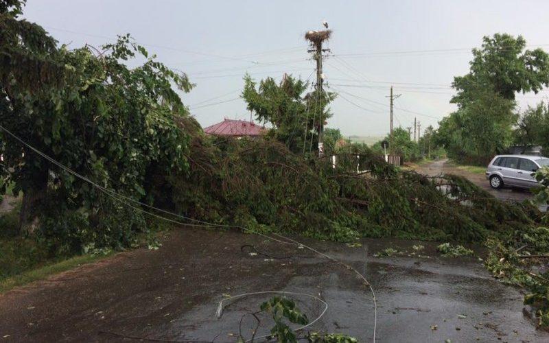 Bilanț IGSU pentru furtunile din 3 septembrie