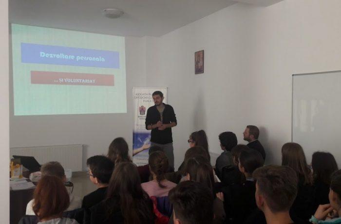 """,,Dezvoltarea personală prin voluntariat"""", la Filantropia Ortodoxă Dej"""