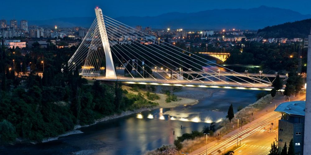 Podgorica, capitala de la poalele Muntelui Negru