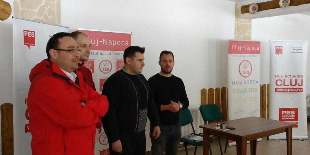 Şcoală de primavară, social-democrată, la Măguri Răcătău