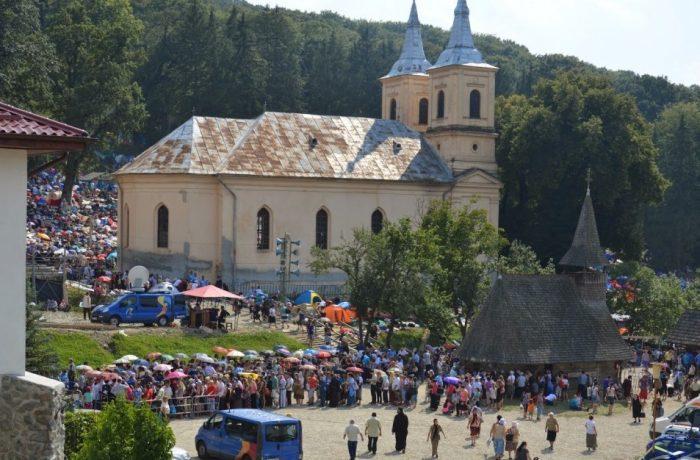 Mănăstirea Nicula în sărbătoare