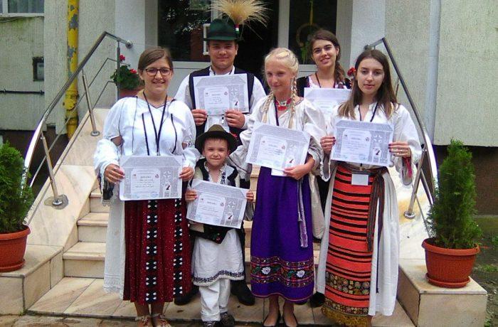 """Rezultate excelente pentru elevii clujeni, la faza națională a Olimpiadei """"Meşteşuguri artistice tradiţionale""""!"""