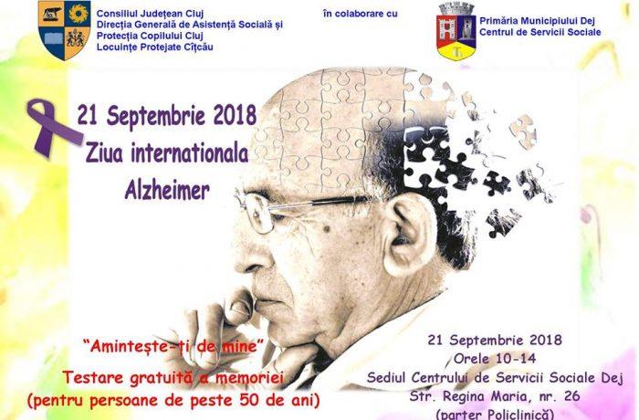 21 septembrie, Ziua Mondială Alzheimer!