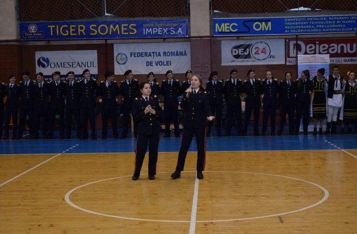 Învățământul militar liceal, promovat la Dej
