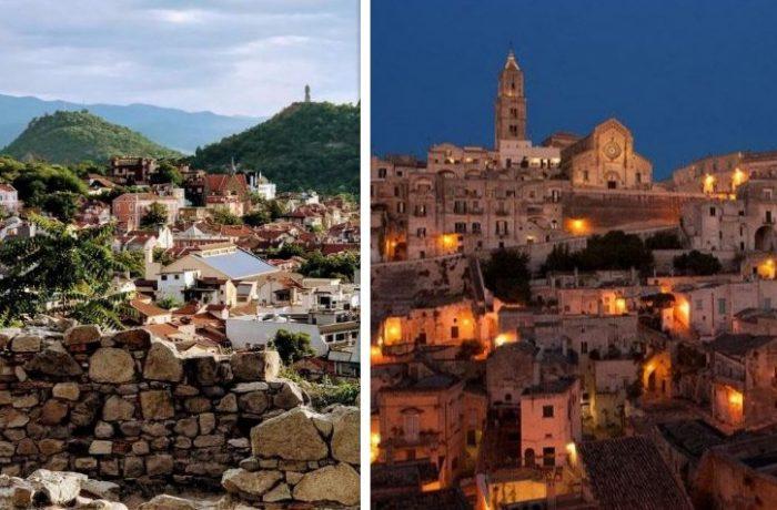 Orașele Plovdiv și Matera sunt Capitale Culturale Europene în 2019