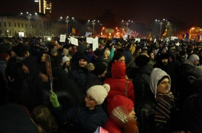 Proteste în ŢARĂ faţă de ordonanţa care modifică legile justiţiei