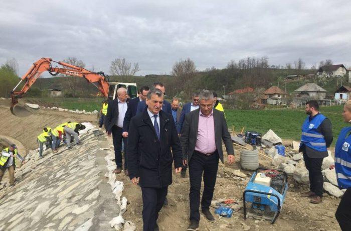 Ministrul Apelor și Pădurilor, în vizită  în județul Cluj și în Dej