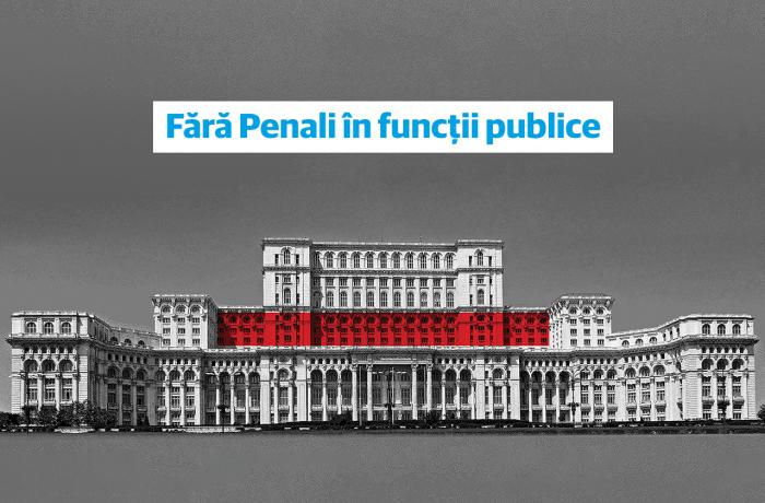 """Iniţiativa """"Fără Penali în funcţii publice"""" este constituţională"""