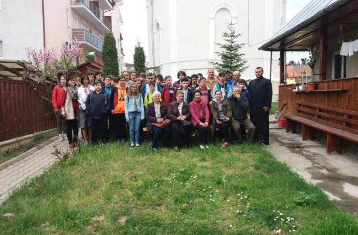 Activitate desfășurată în cadrul unui parteneriat Școală-Biserică în municipiul Dej