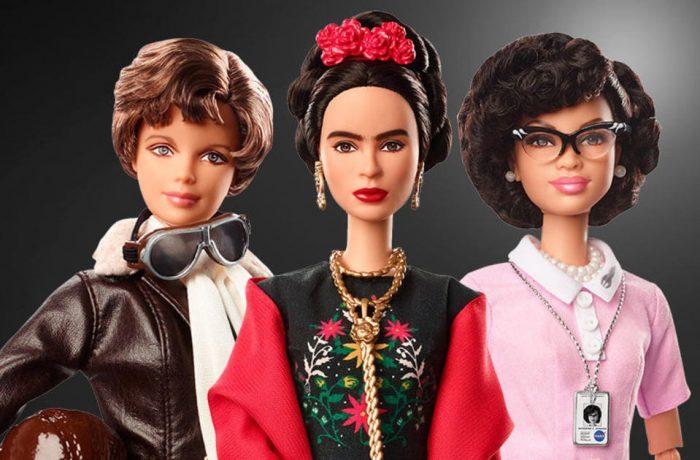 Păpuși Barbie, inspirate de femei celebre