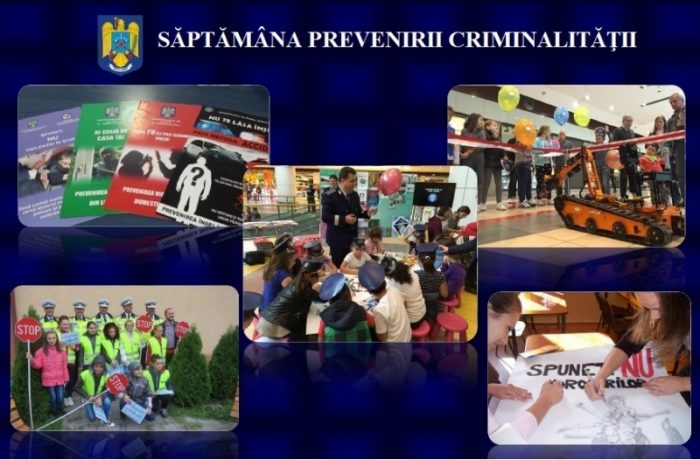 Săptămâna preveniririi criminalității