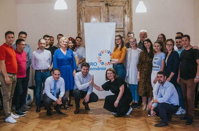 Pro România are organizaţie de tineret la Cluj