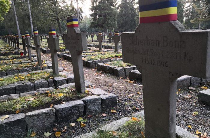 Tabără de îngrijire a mormintelor eroilor români înhumați în Polonia