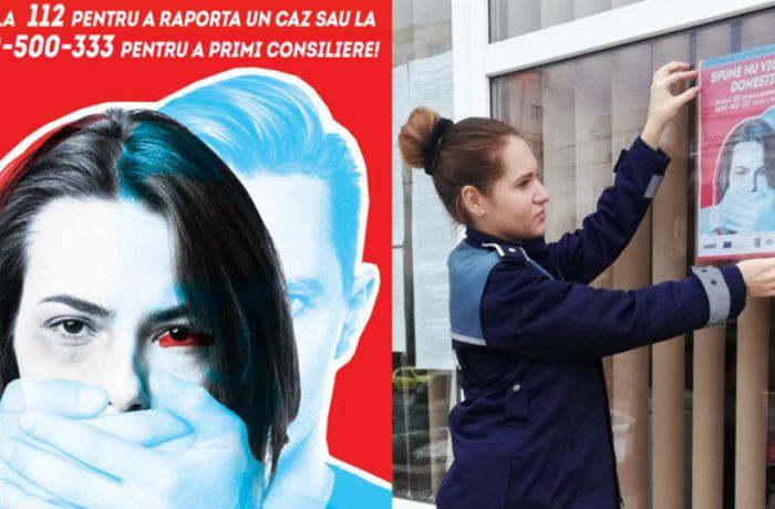 Campanie de prevenire a violenței împotriva femeilor